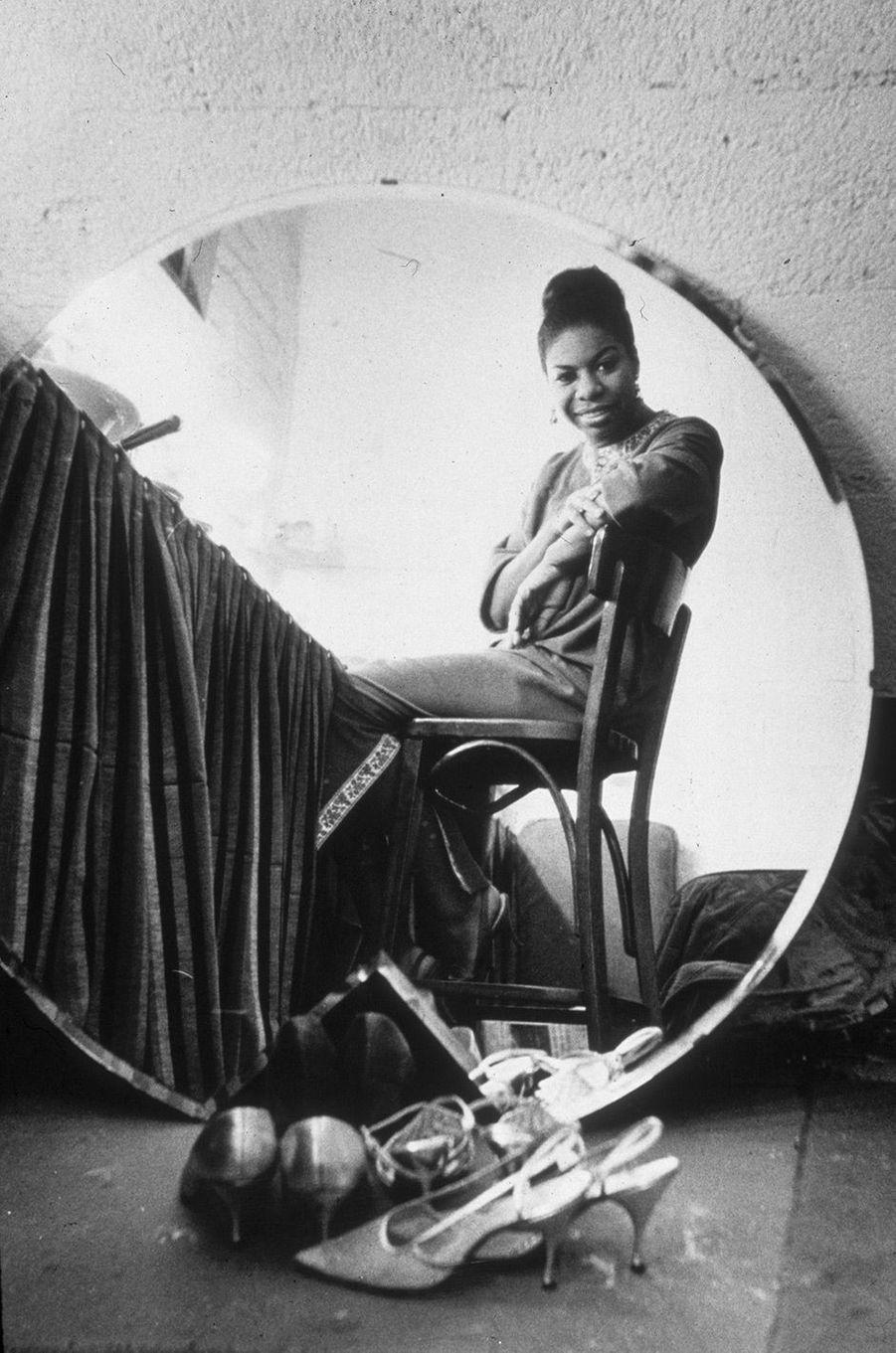 Nina Simone à New York en 1965
