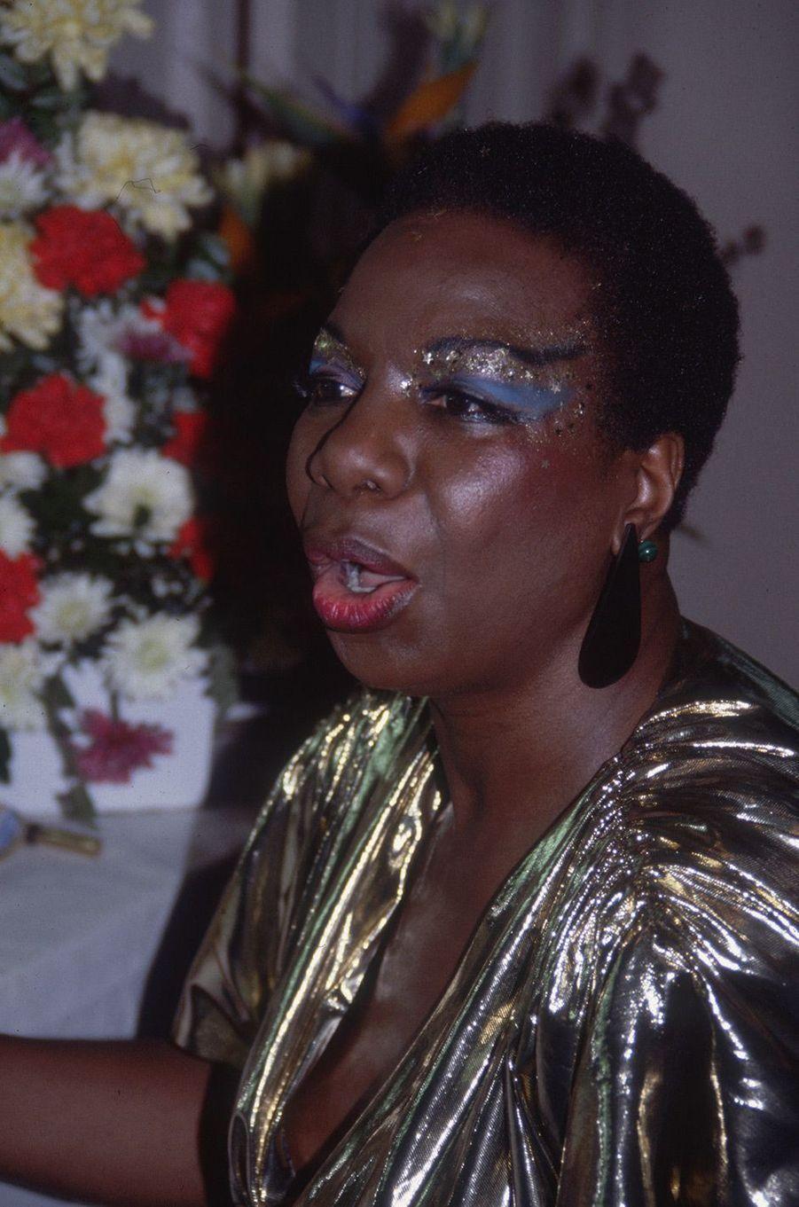 Nina Simone en 1985