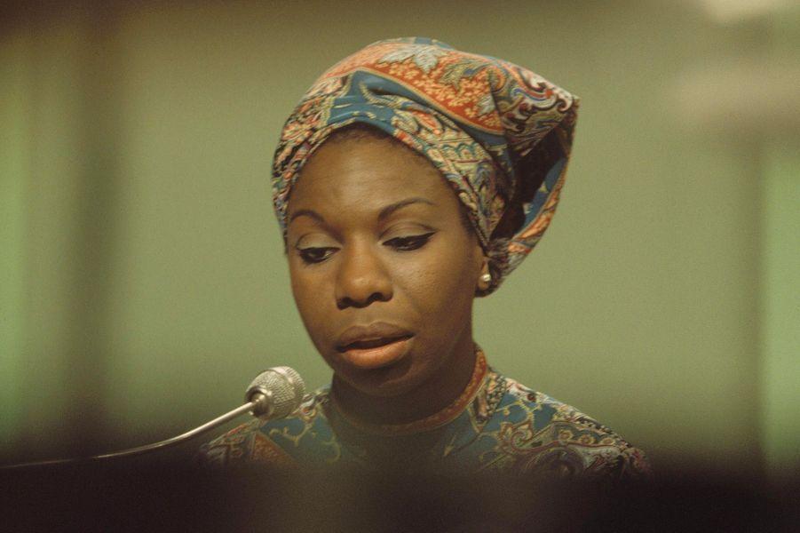Nina Simone en Angleterre en 1966