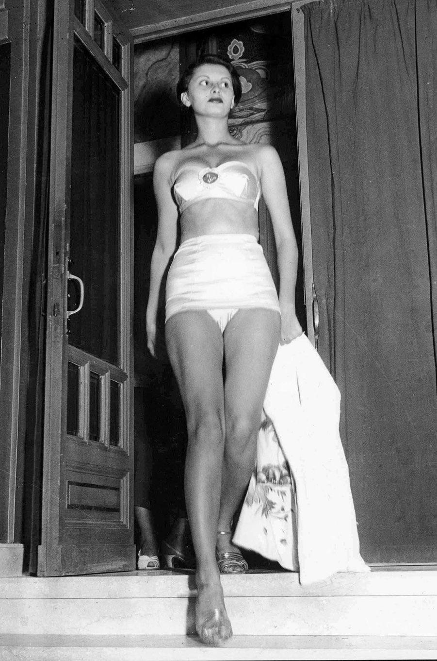 Sophia Loren en 1950