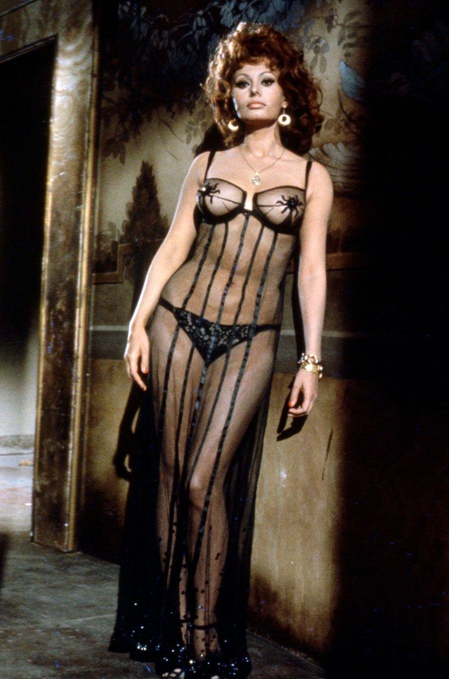 Sophia Loren, sex symbol en 1955.