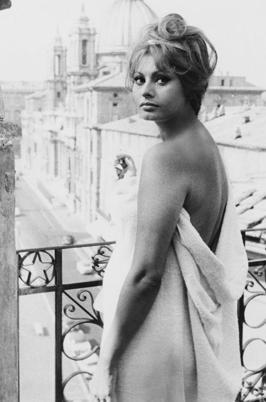 Sophia Loren en 1963