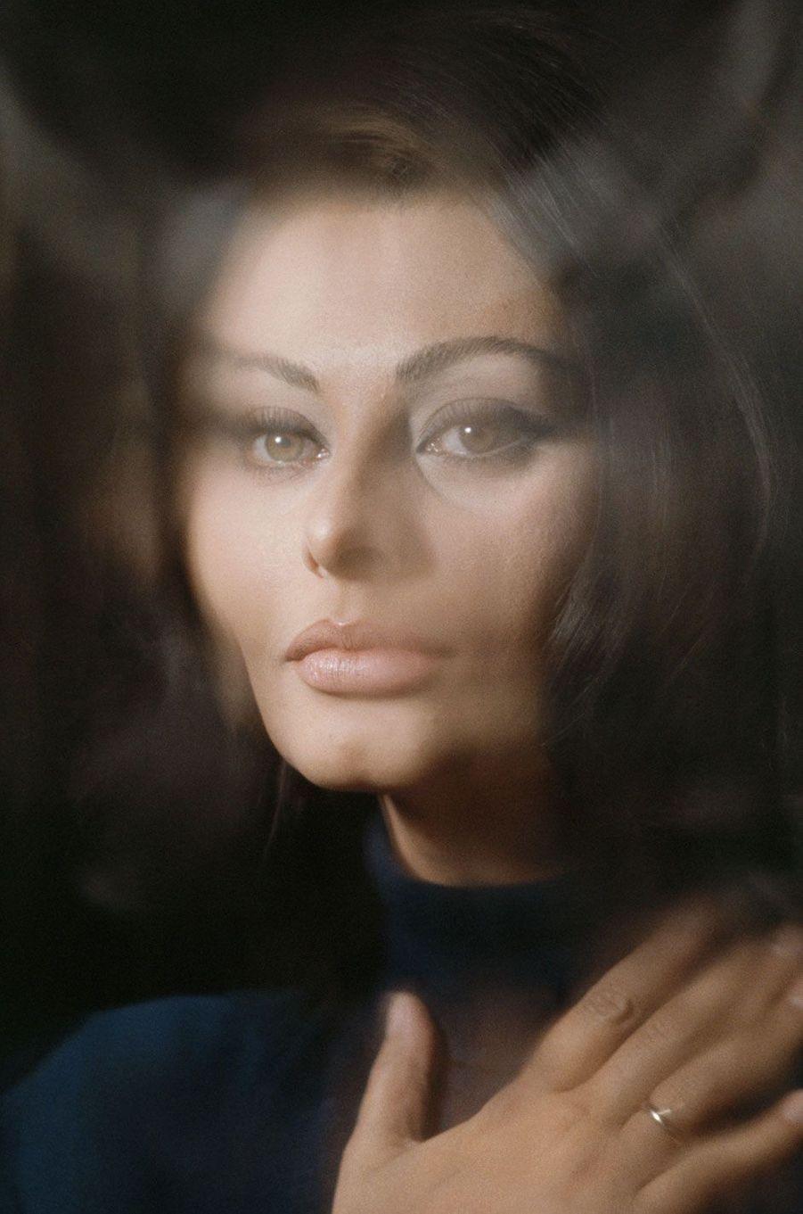 Sophia Loren en 1965.