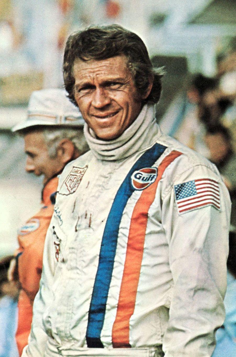 Steve McQueen au Mans en 1971.