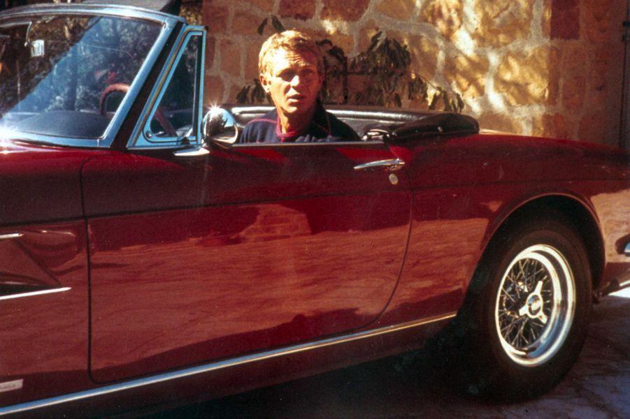 Steve McQueen dans les années 50.