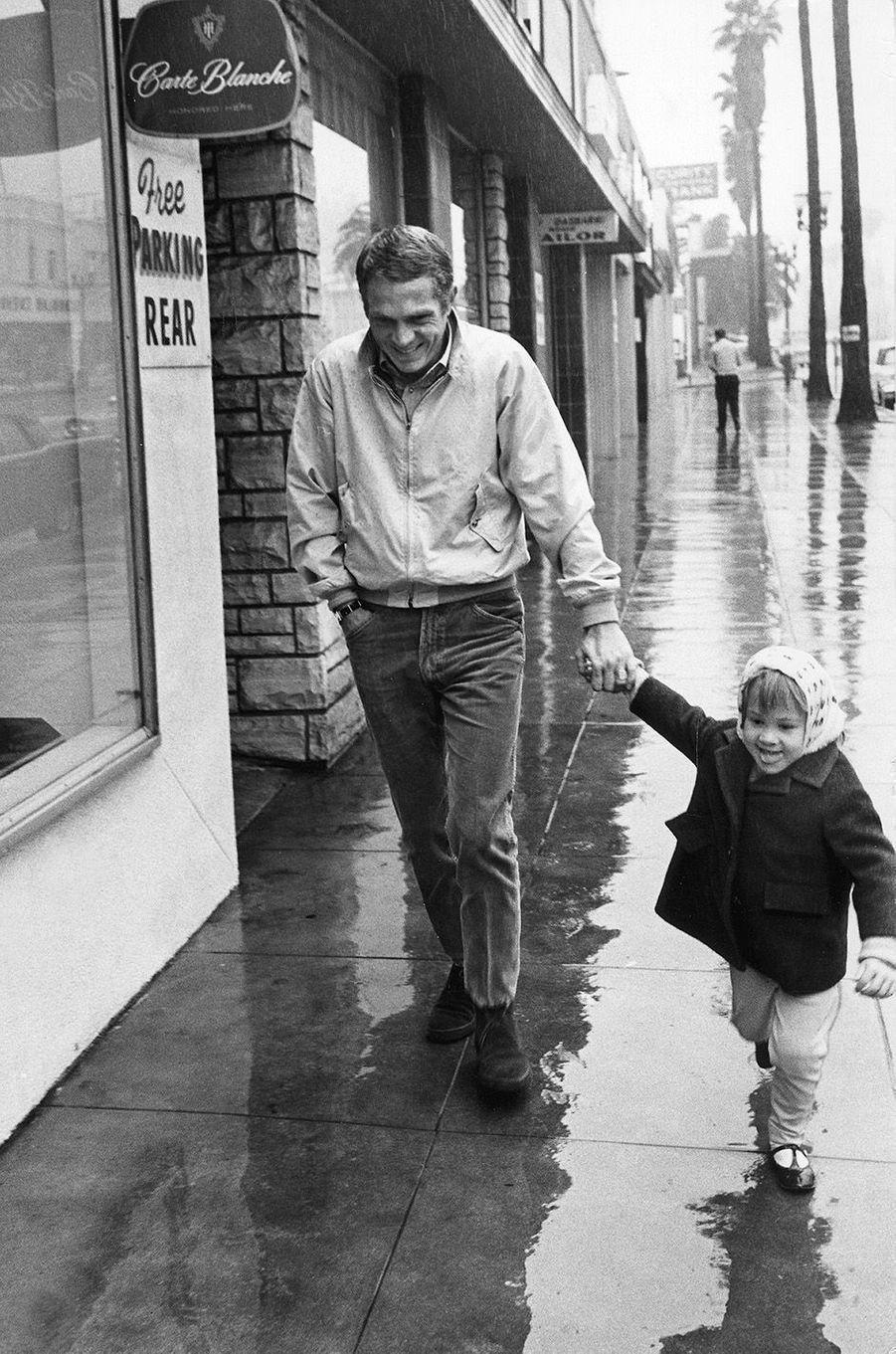 Steve McQueen en 1964.