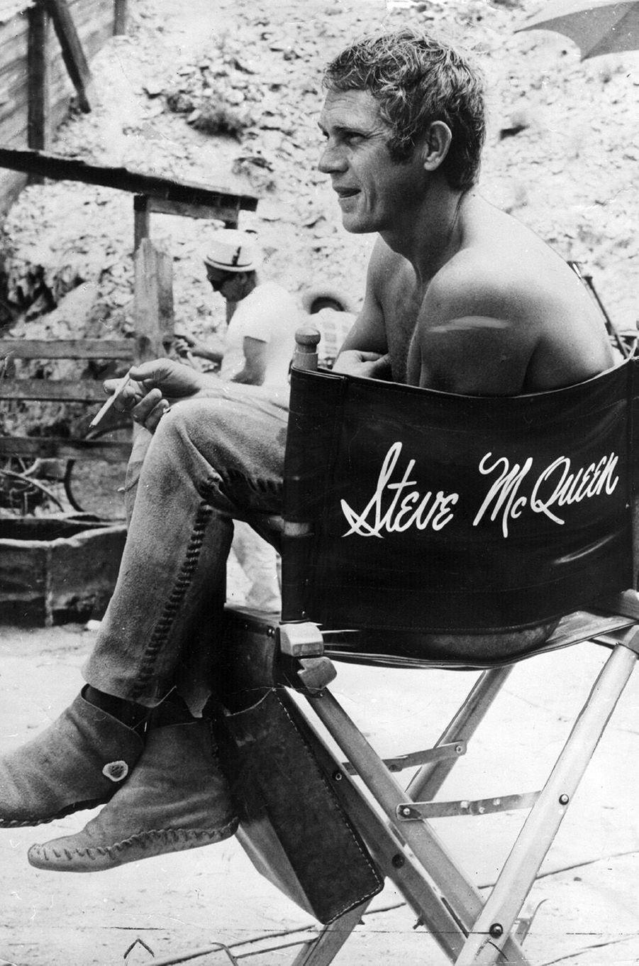 Steve McQueen en 1966.
