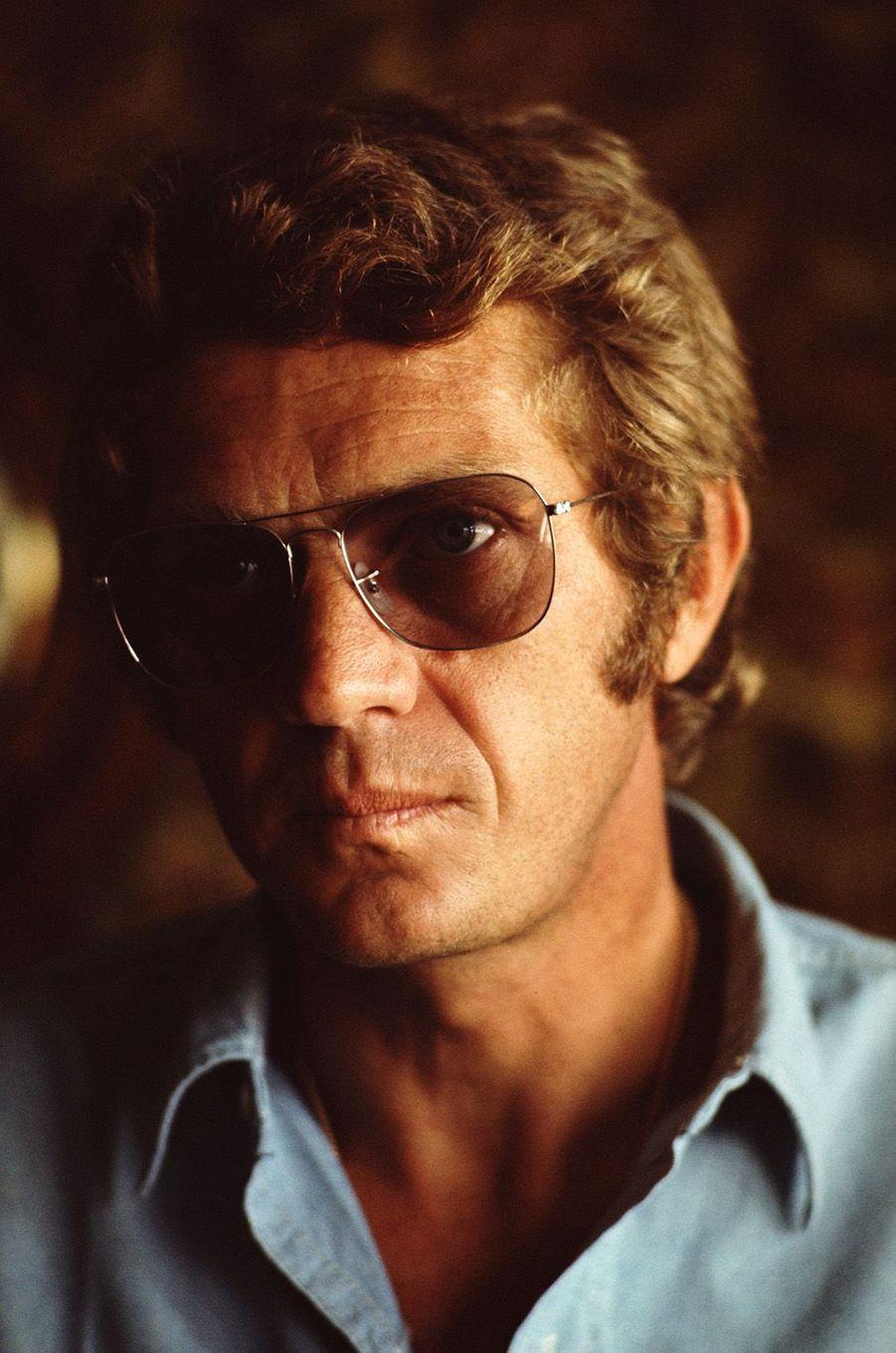 Steve McQueen en 1970.