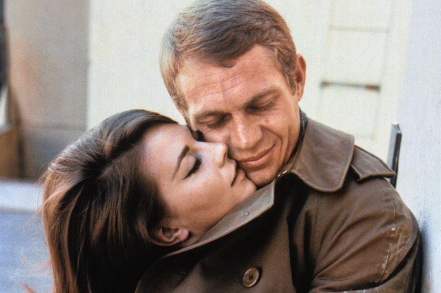 Steve McQueen et Natalie Wood en 1963.