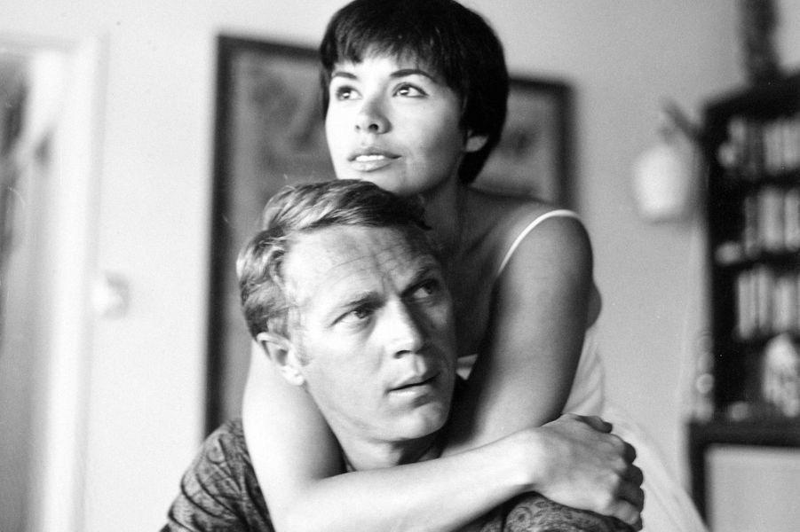 Steve McQueen et Neile Adams, 1959.