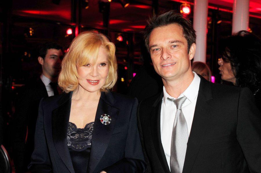 Sylvie Vartan et David Hallyday en 2010