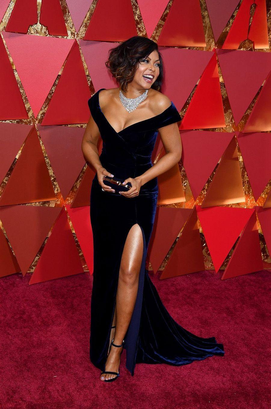 Taraji P. Henson lors de la cérémonie des Oscars 2017.