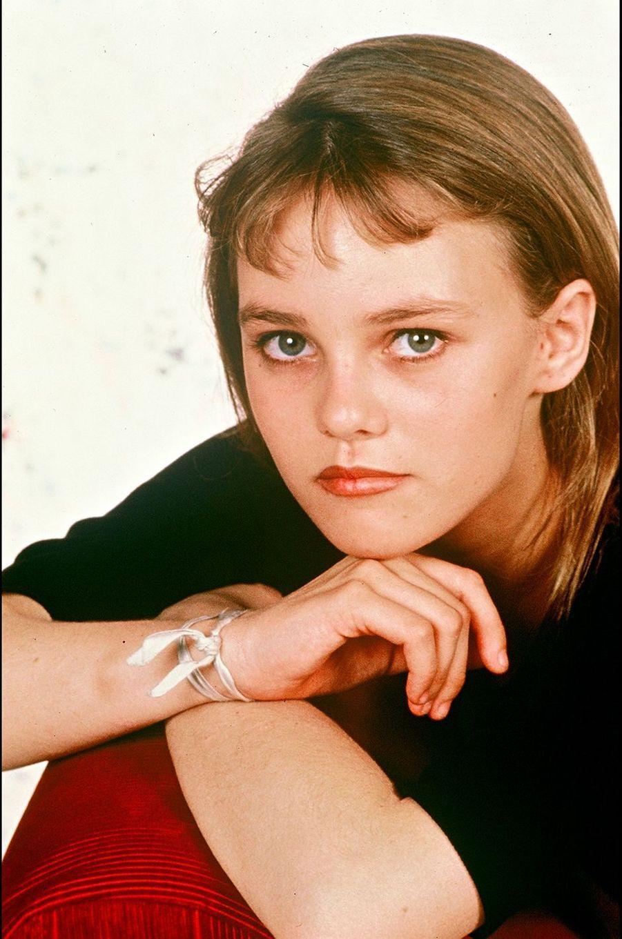 Vanessa Paradis en 1989.