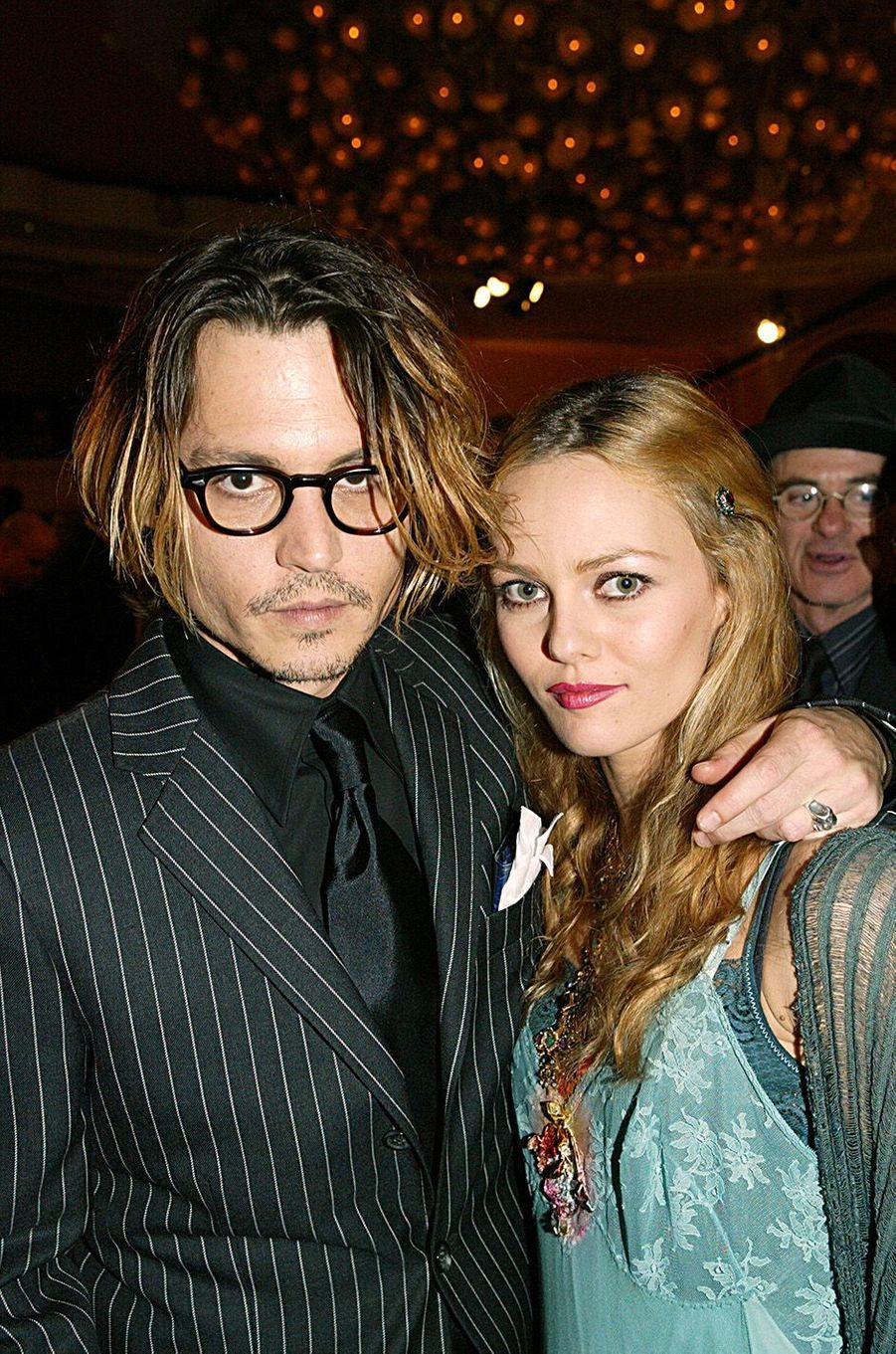 Vanessa Paradis et Johnny Depp en 2004.