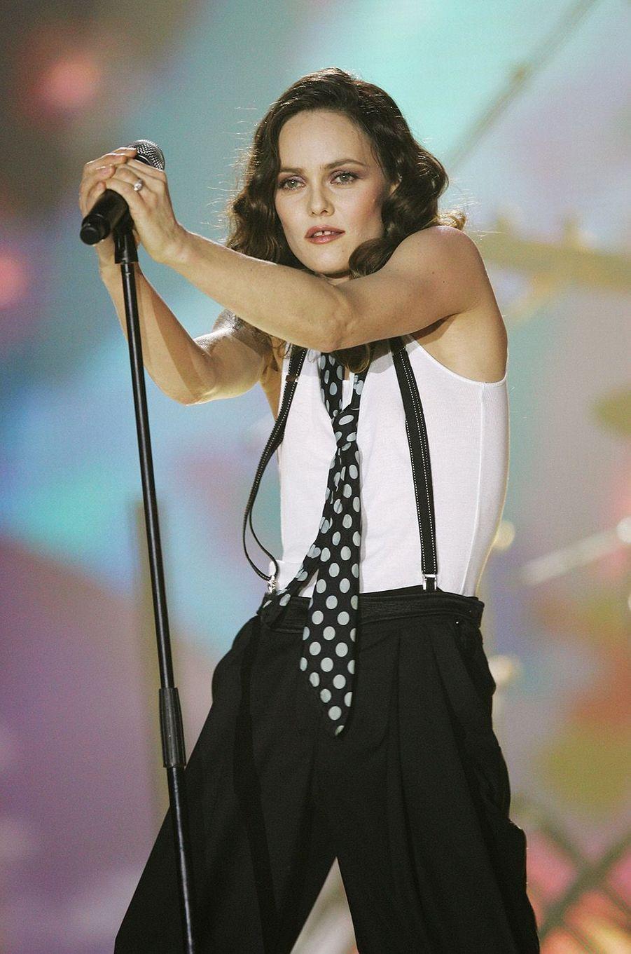 Vanessa Paradis aux Victoires de la Musique 2008.