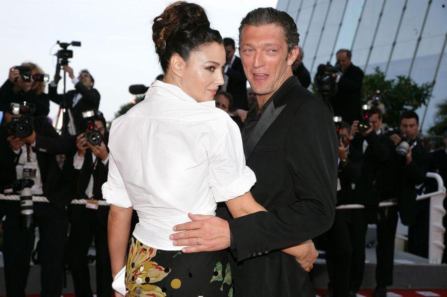 Vincent Cassel et Monica Bellucci en 2006