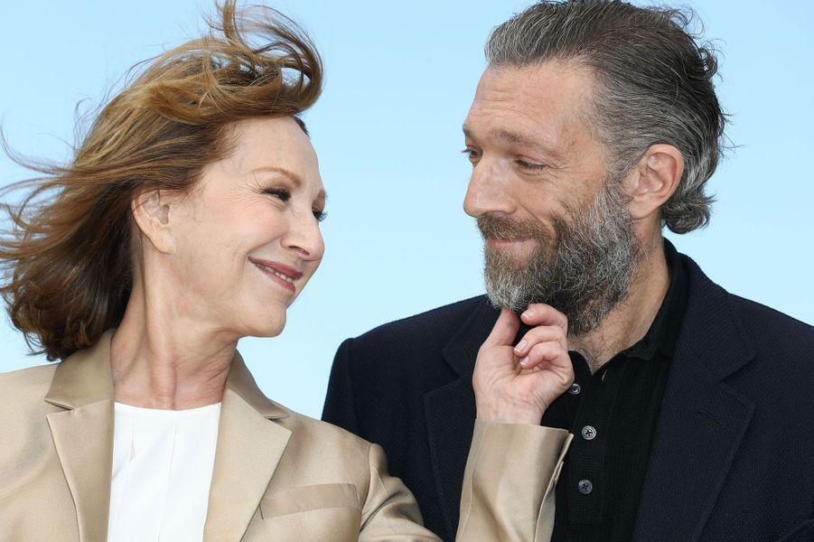 Vincent Cassel en 2016, avec Nathalie Baye