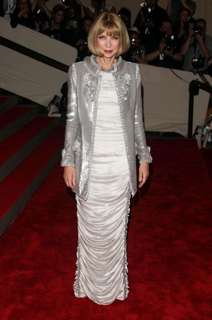 Anna Wintourau Met Gala à New York le 3 mai 2010