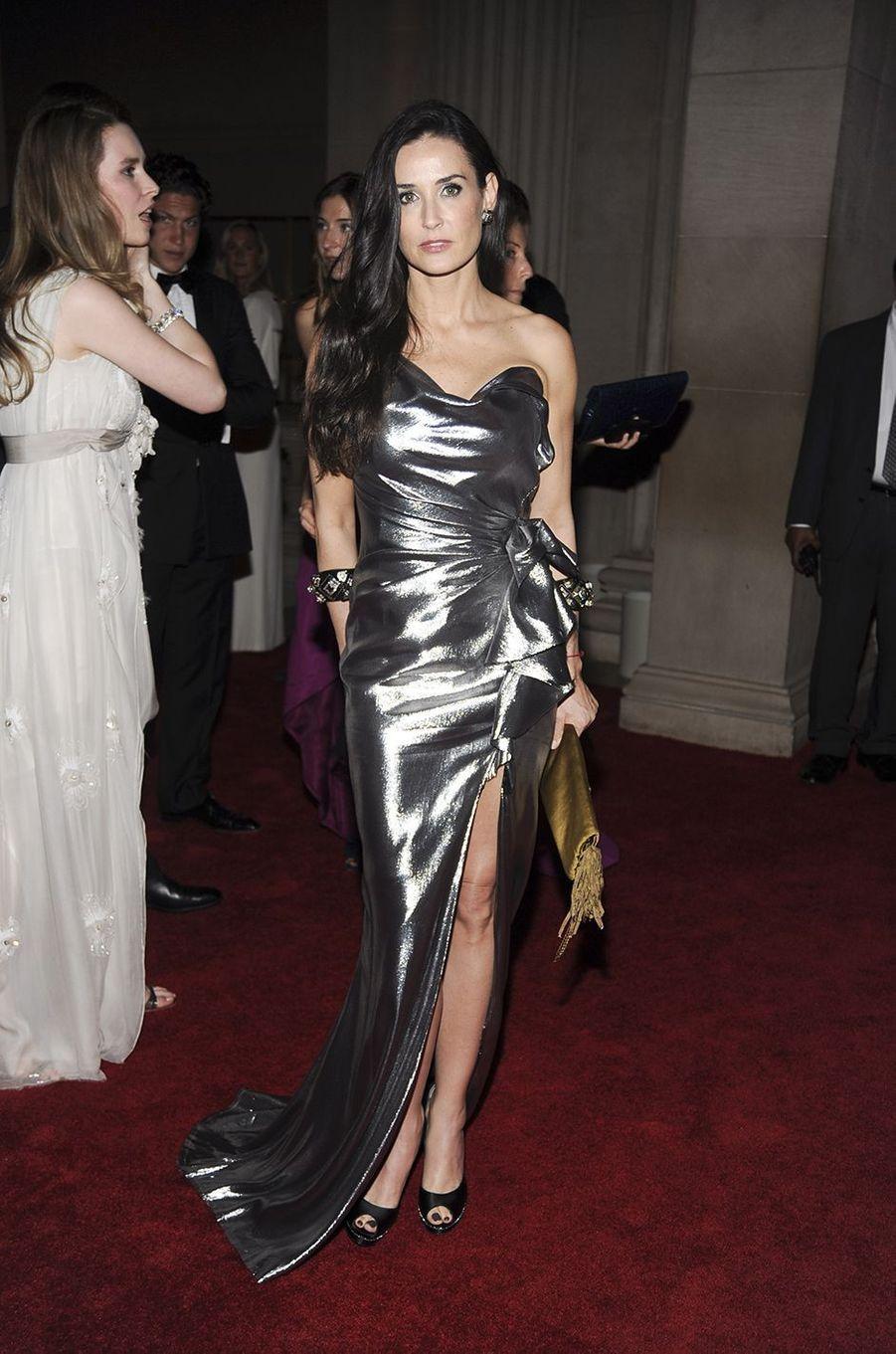 Demi Mooreau Met Gala à New York le 3 mai 2010