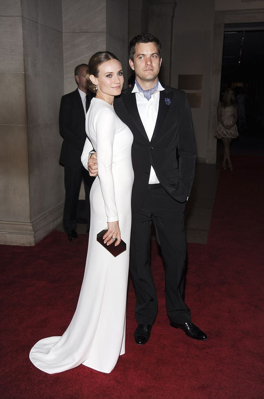 Diane Kruger et Joshua Jacksonau Met Gala à New York le 3 mai 2010