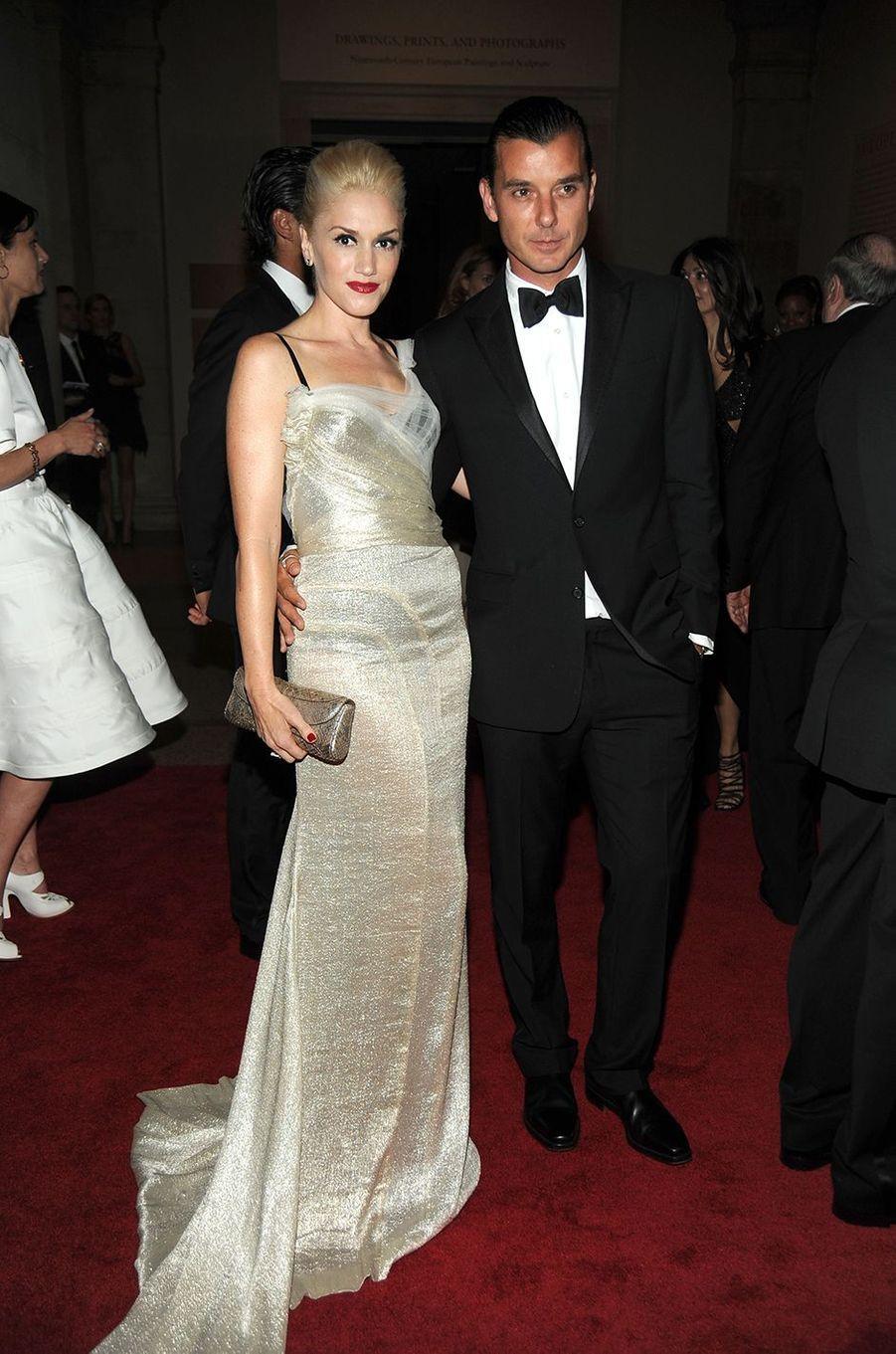 Gwen Stefani et Gavin Rossdaleau Met Gala à New York le 3 mai 2010