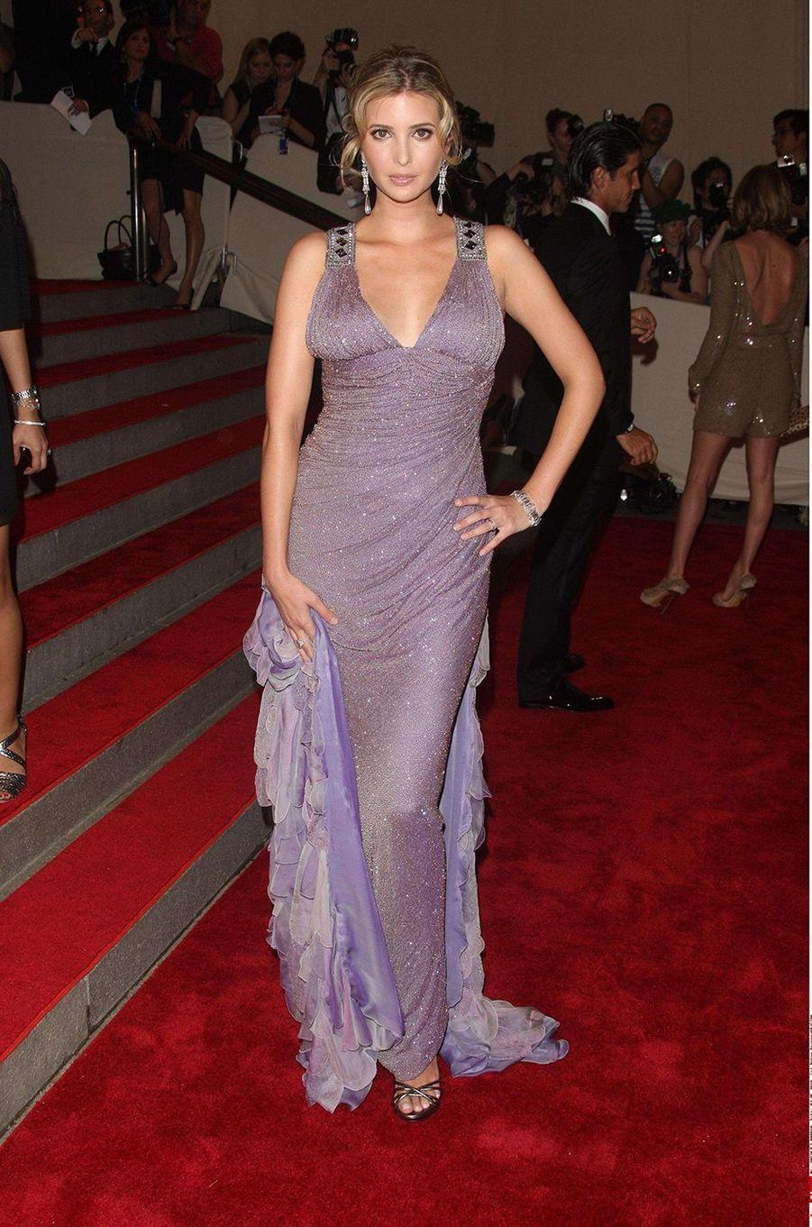 Ivanka Trumpau Met Gala à New York le 3 mai 2010