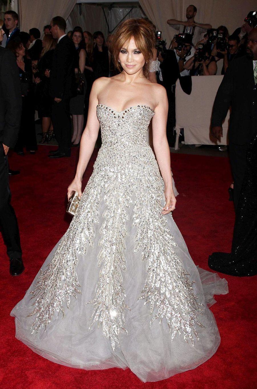 Jennifer Lopezau Met Gala à New York le 3 mai 2010