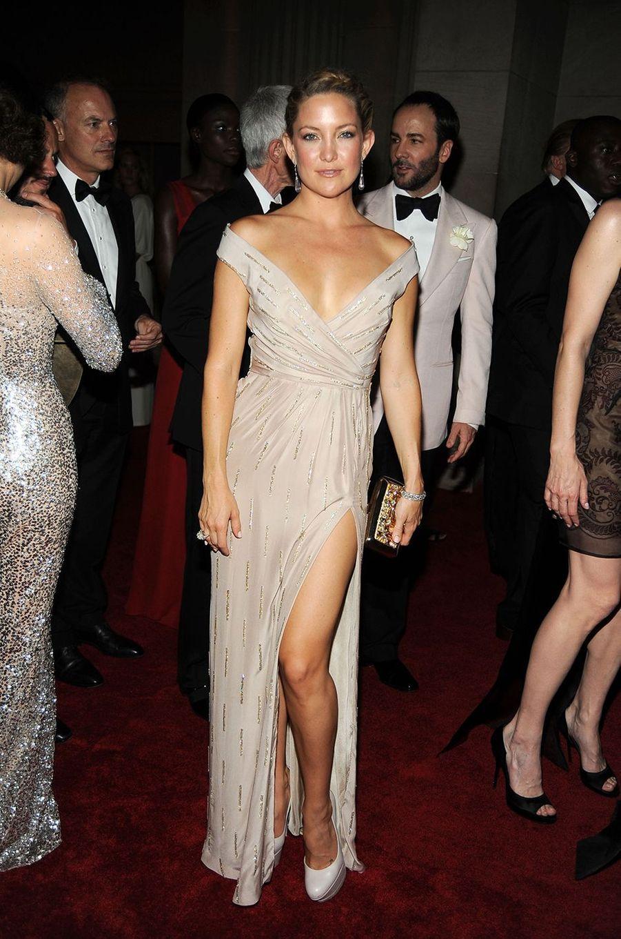 Kate Hudsonau Met Gala à New York le 3 mai 2010
