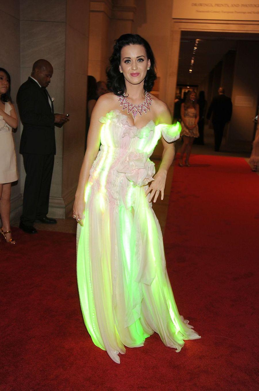 Katy Perryau Met Gala à New York le 3 mai 2010