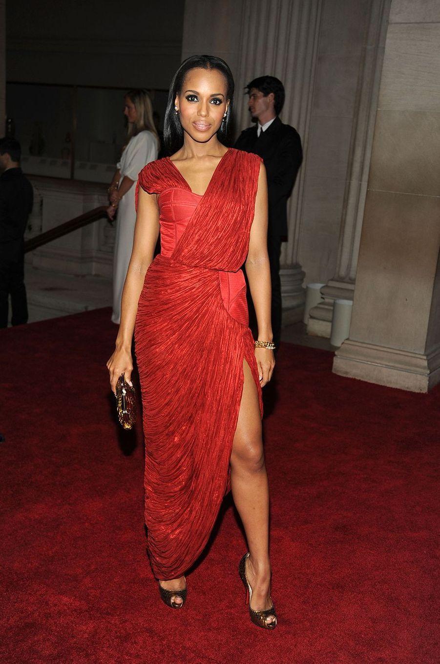 Kerry Washingtonau Met Gala à New York le 3 mai 2010
