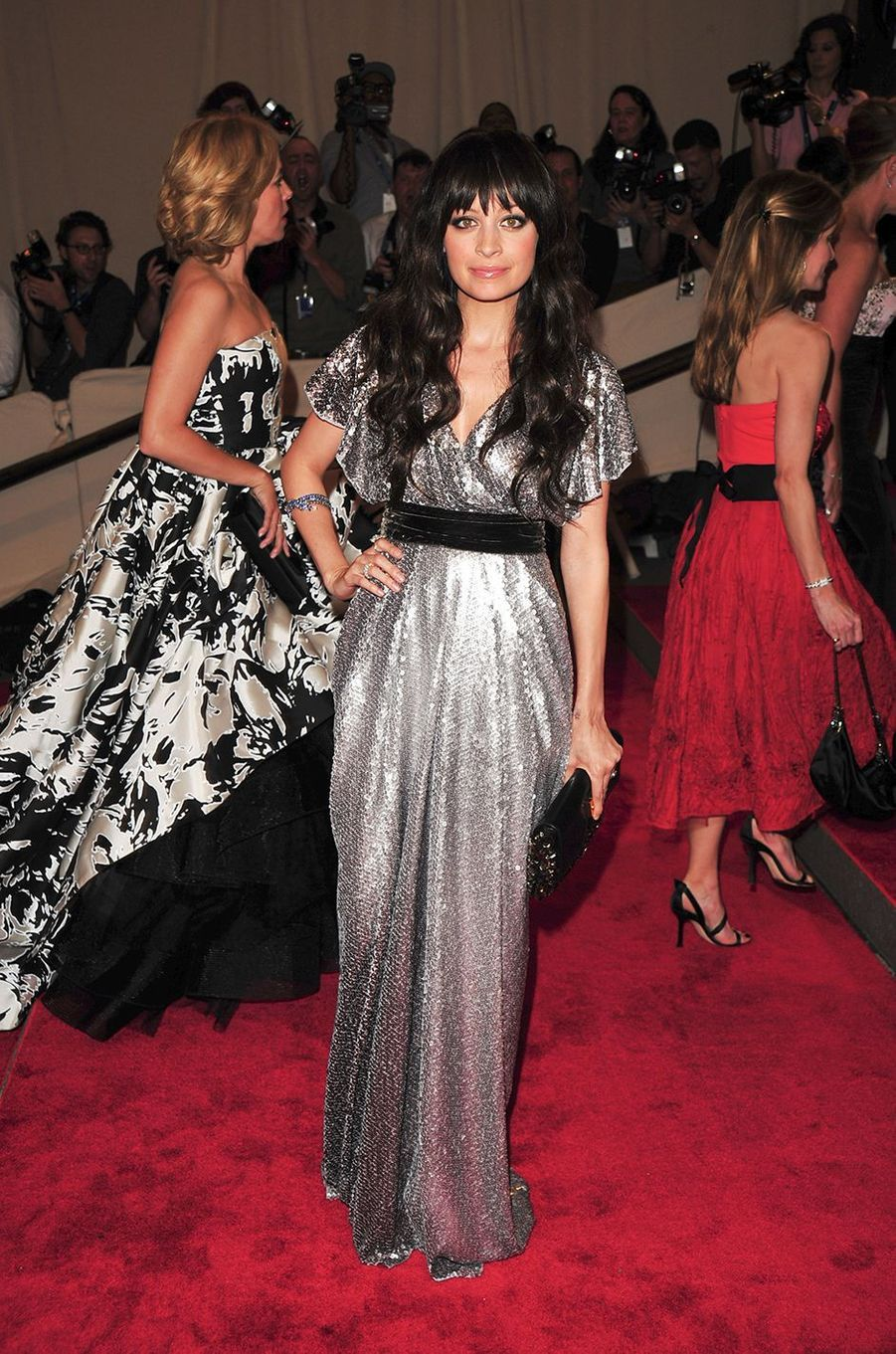 Nicole Richieau Met Gala à New York le 3 mai 2010
