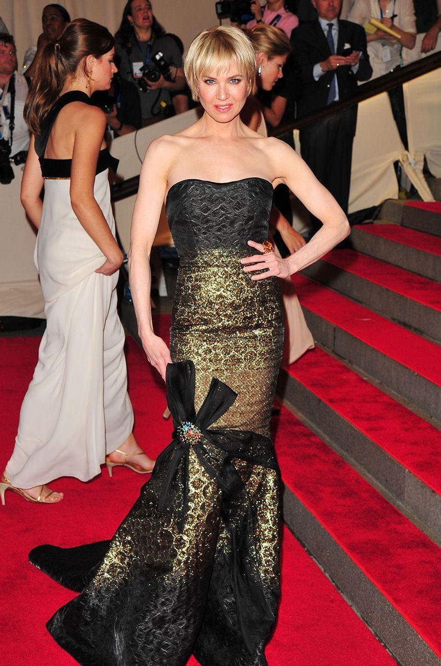 Renée Zellwegerau Met Gala à New York le 3 mai 2010