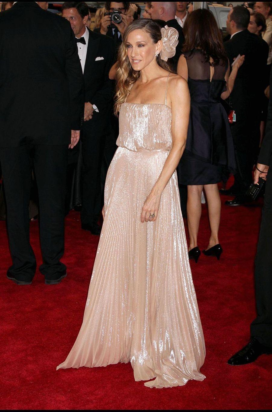 Eva Longoriaau Met Gala à New York le 3 mai 2010