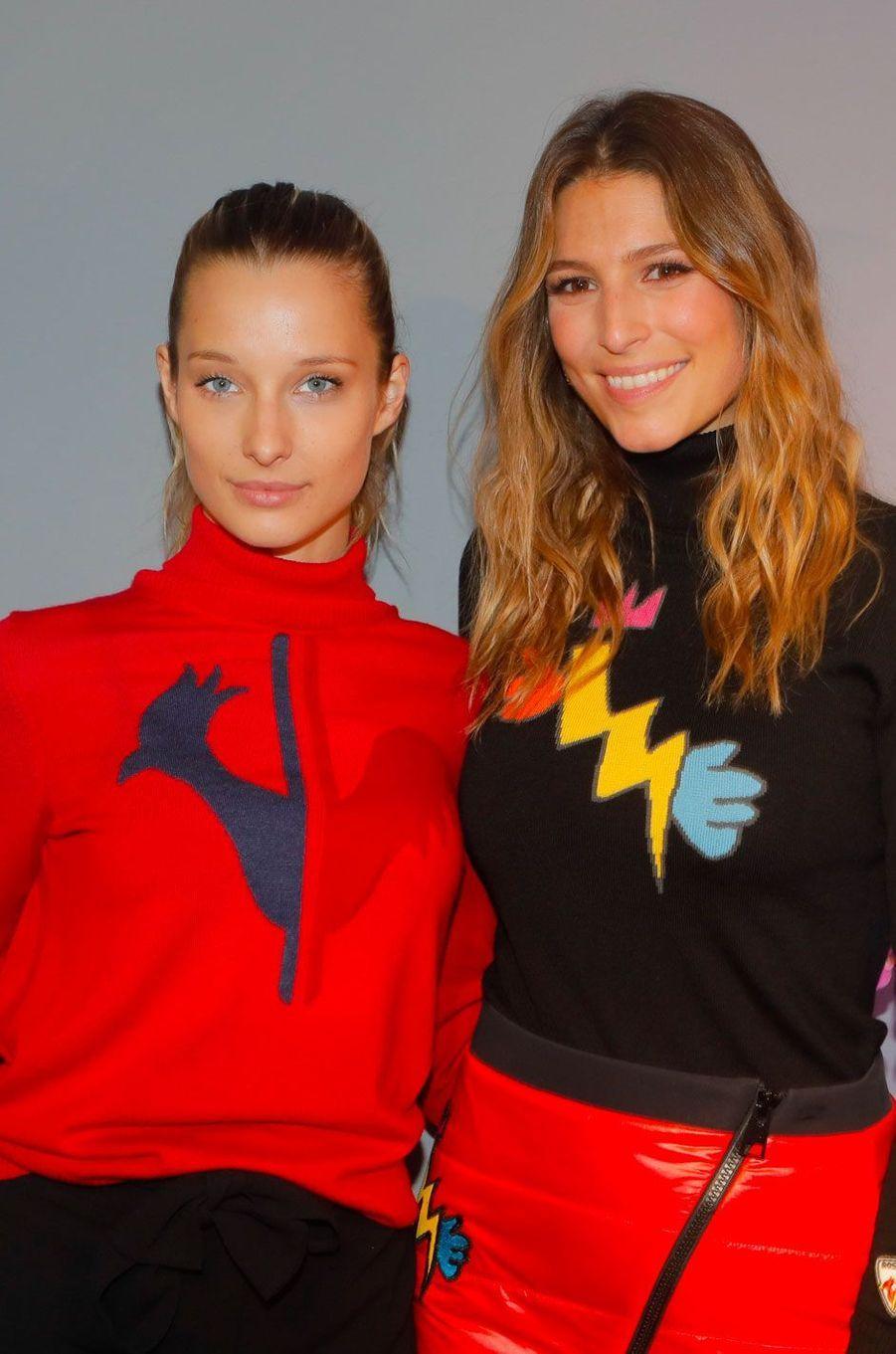 Ilona Smet et Laury Thilleman