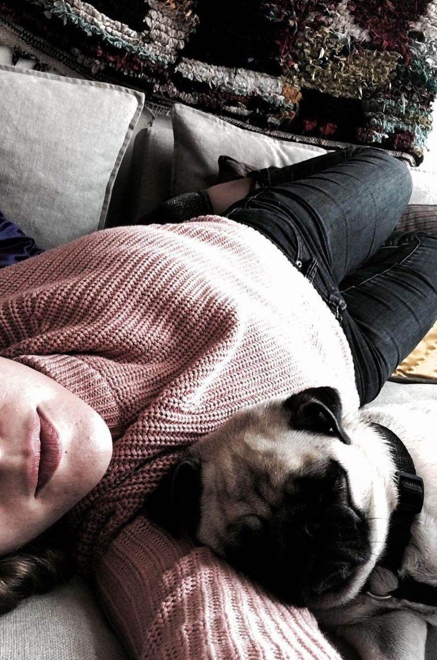 Avec son chien