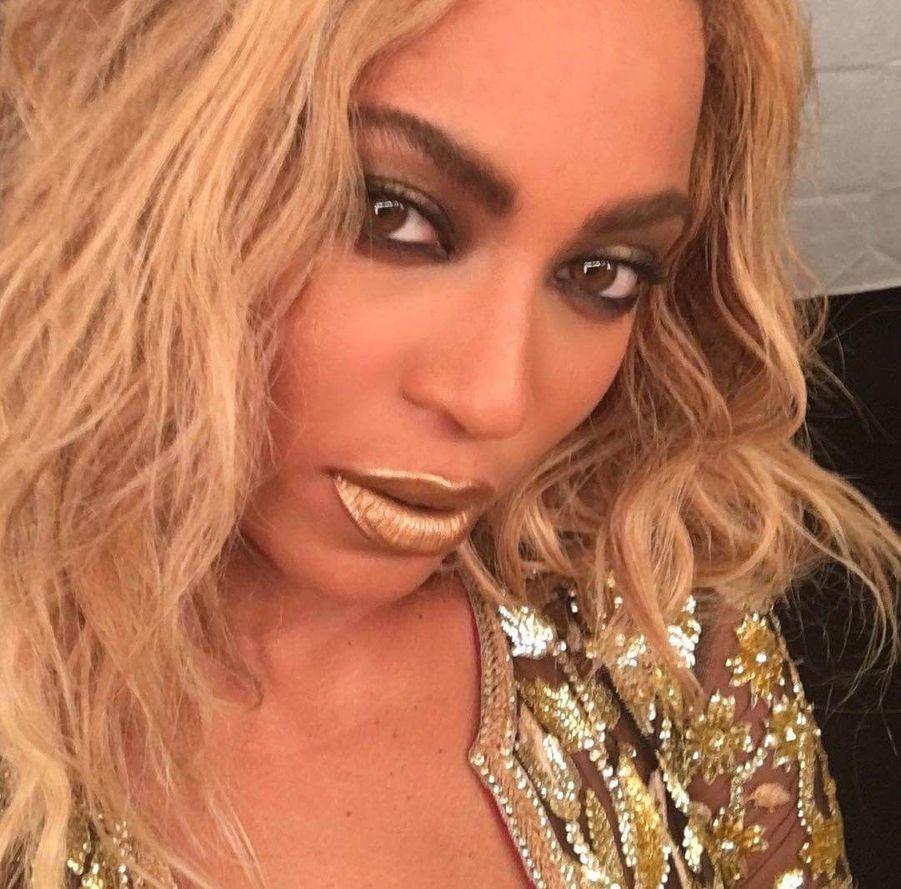 Beyoncé, pro des selfies.