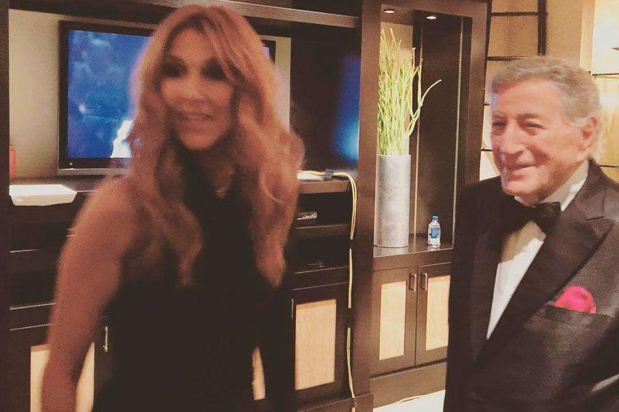 Céline Dion et Tony Benett
