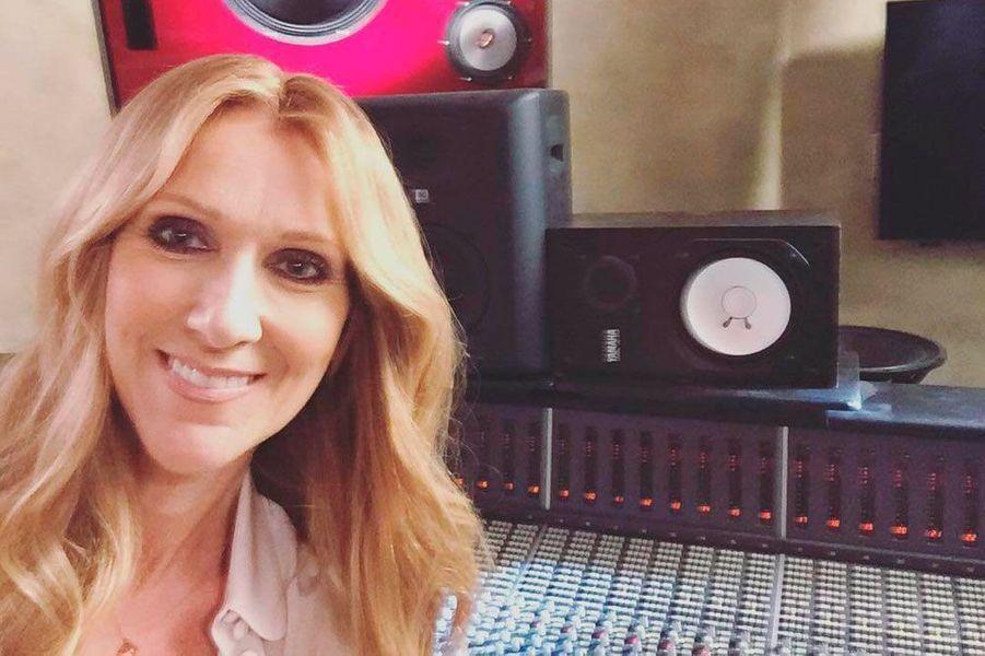 Le tout premier post Instagram de Céline Dion le 27 octobre 2015