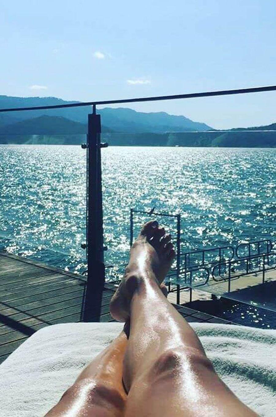 Les vacances d'Eva Longoria