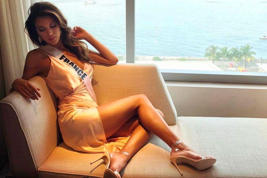Iris Mittenaere a remporté la couronne de Miss Univers 2016