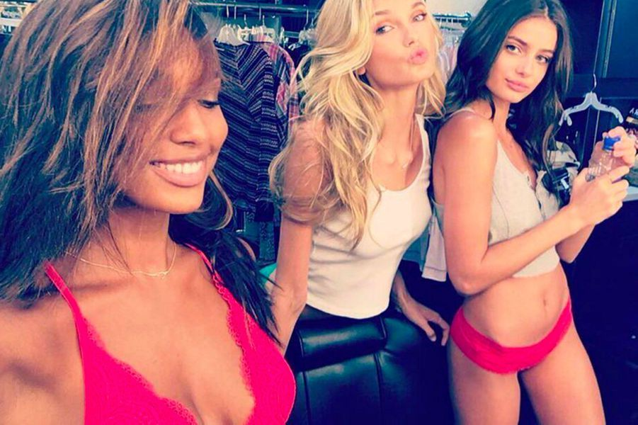 Jasmine Tookes, Romme Strijd et Taylor Hil