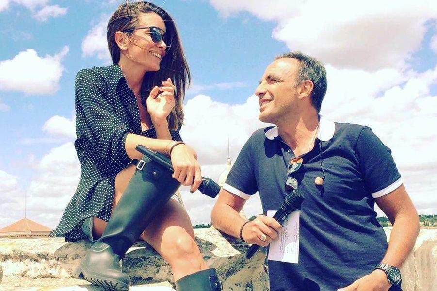 avec Nikos Aliagas.