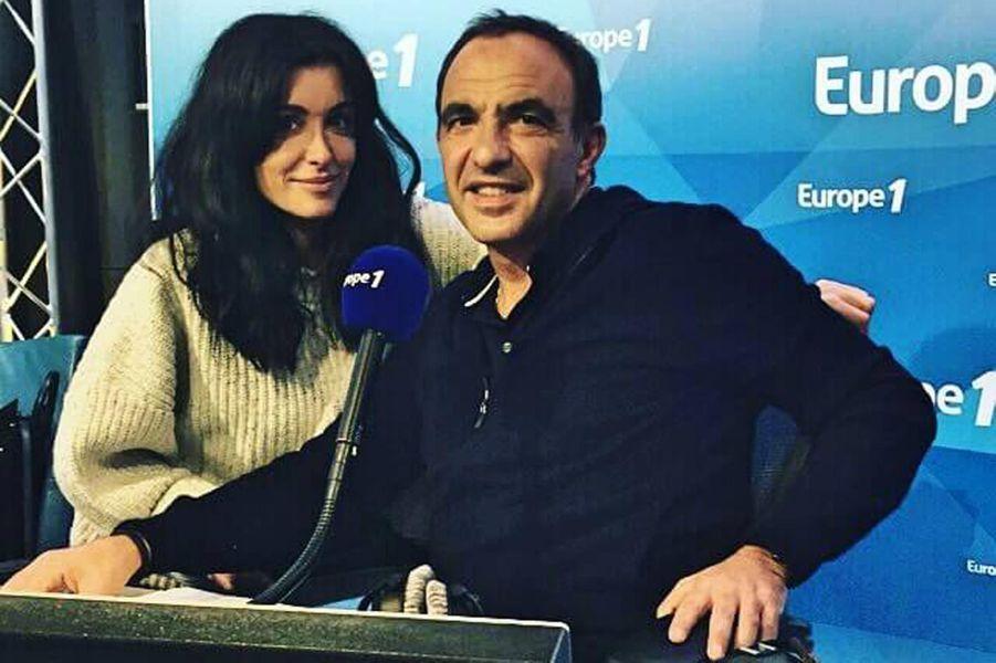 Chez Europe 1 avec Nikos Aliagas.