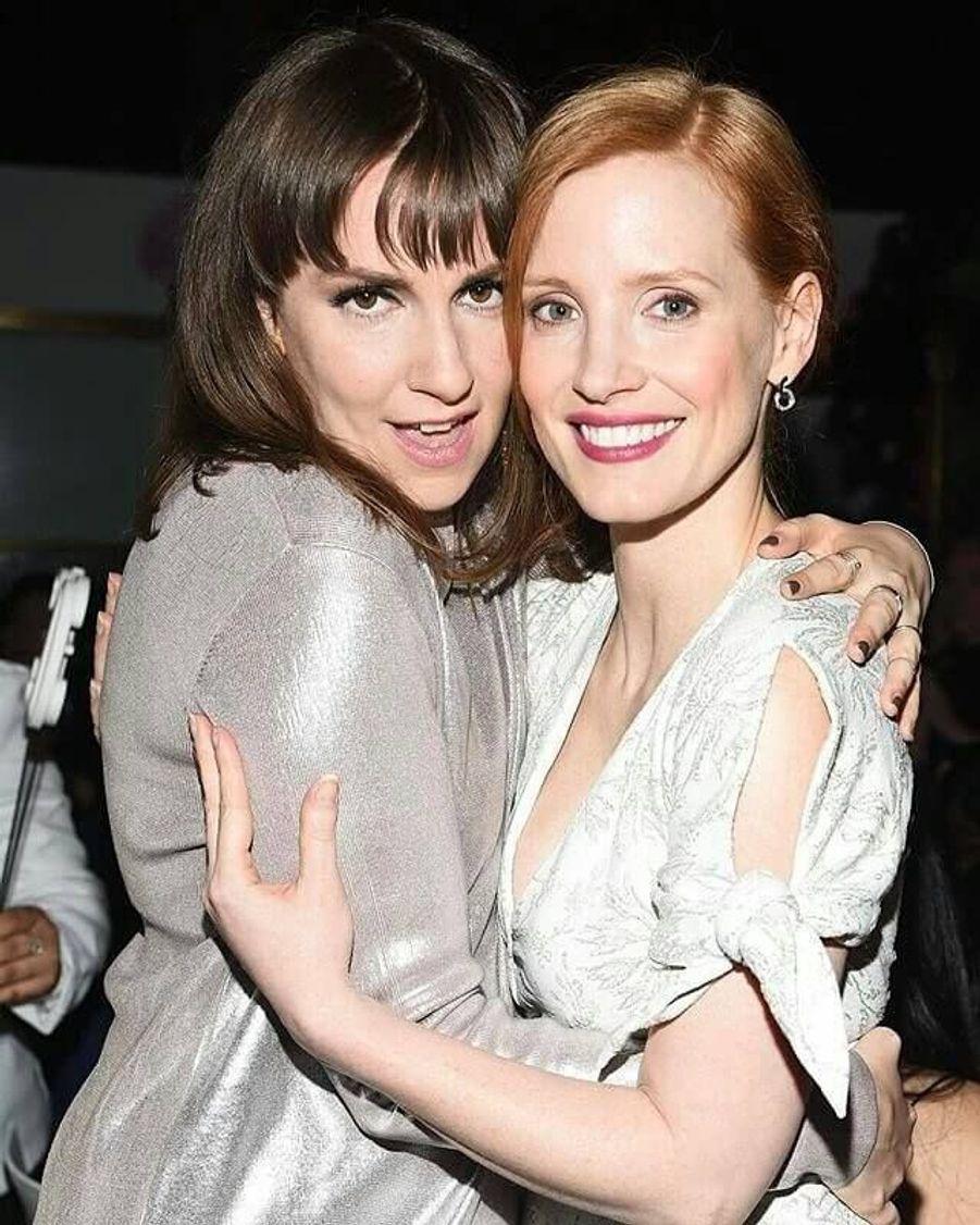 Avec Lena Dunham