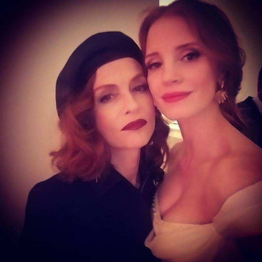 Avec isabelle Huppert