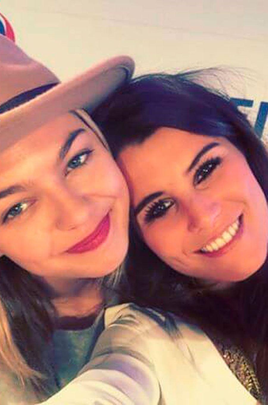 Karine Ferri et Louane