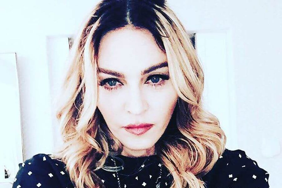 La chanteuse Madonna.