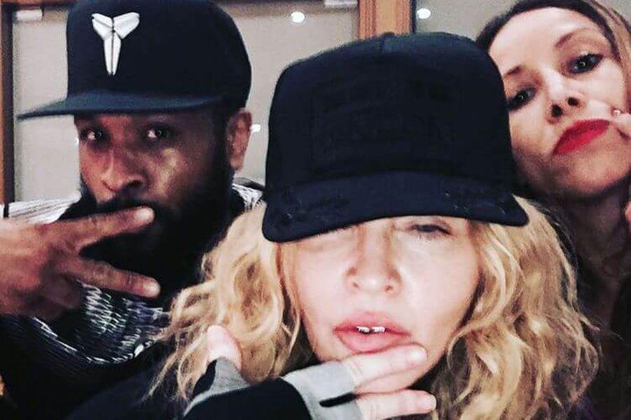 Madonna, une reine de la scène.