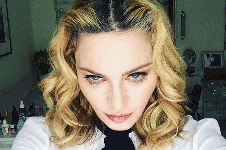 Madonna à 58 ans.