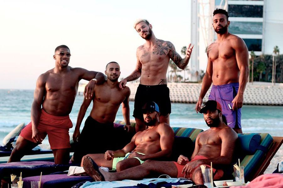 Matt Pokora en vacances à Dubaï